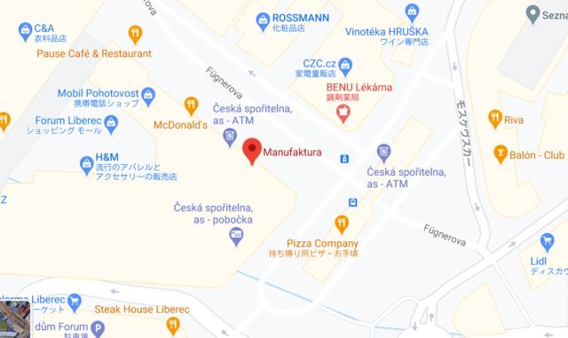 MANUFAKTURA MAP